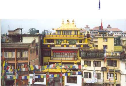 Kathmandu city sceen.