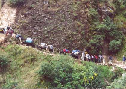 Main road to Phakding.jpg (23444 bytes)