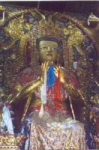 Buddha-monestary Gompa.