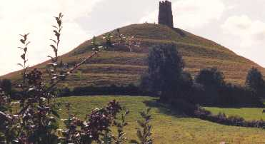 Glastonbury tor.Glastonbury, England
