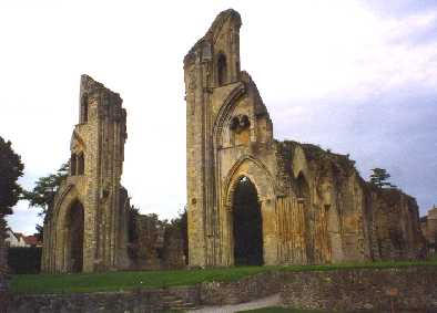Ruins Glastonbury.