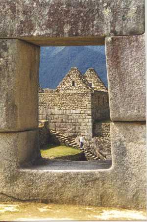 The Window Machu Picchu