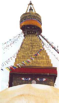 The Great Stupa,Kathmandu